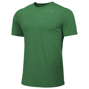 Nike Team Legend Short Sleeve Poly Top - Men's - Apple Green/Cool Grey