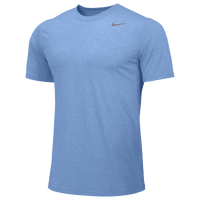 Nike Team Legend Short Sleeve Poly Top - Men's - Light Blue / Light Blue