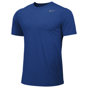 Nike Team Legend Short Sleeve Poly Top - Men's - Game Royal/Cool Grey