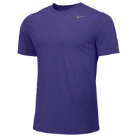 Nike Team Legend Short Sleeve Poly Top - Men's - Purple / Purple