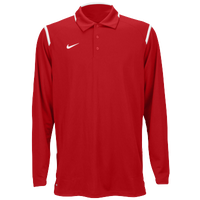 Nike Team Gameday Polo L/S - Men's - Red / White