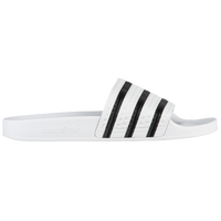 adidas Originals Adilette Slide - Men's - White / Black