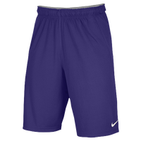 Nike Team Fly Shorts - Men's - Purple / Purple