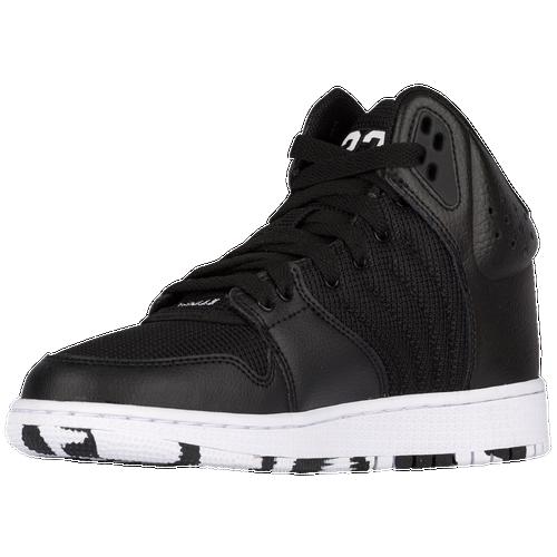 61b7749decb28b Jordan 1 Flight 4 - Boys  Grade School - Basketball - Shoes -  Black White Black