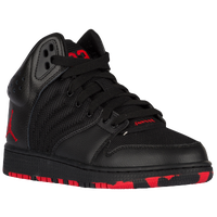 9bb5130cb48b Jordan 1 Flight 4 - Boys  Grade School - Basketball - Shoes - Black ...