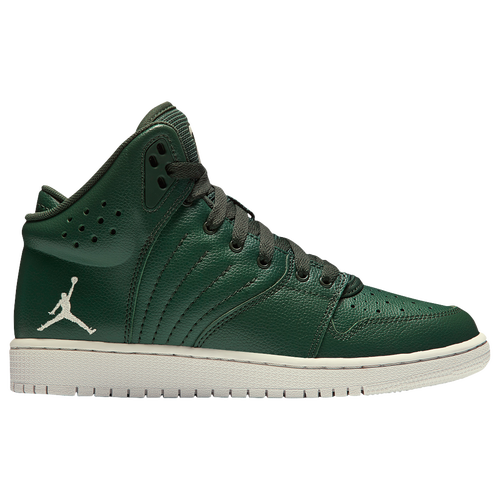 43d71a79f Jordan 1 Flight 4 - Boys' Grade School - Basketball - Shoes - Forest ...