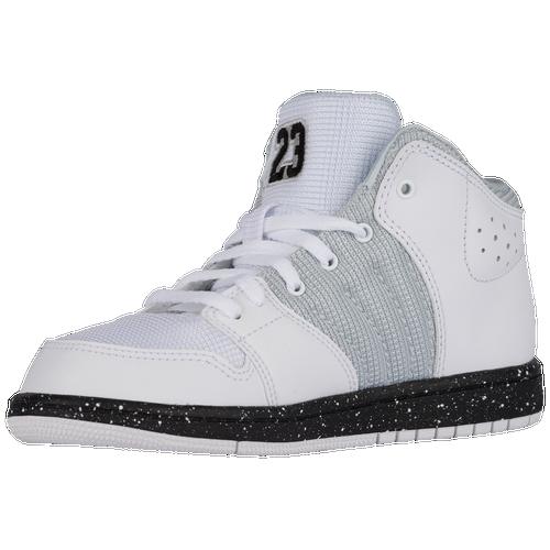 4b69af9c6f608d Jordan 1 Flight 4 - Boys  Preschool - Basketball - Shoes - White ...