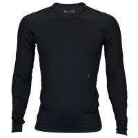 Under Armour Rush Compression L/S T-Shirt - Men's - All Black / Black
