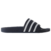 adidas Originals Adilette Slide - Men's - Navy / White