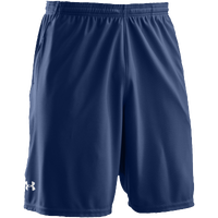 "Under Armour Team Coaches 9.5"" Shorts - Men's - Navy / Navy"