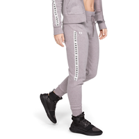 Under Armour Taped Fleece Pants - Women's - Grey