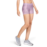 "Under Armour HeatGear Armour 3"" Shorty - Women's - Purple"