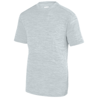 Augusta Sportswear Team Heather Training T-Shirt - Boys' Grade School - Silver / Silver