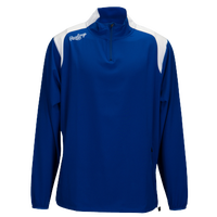 Rawlings Force Long Sleeve Quarter Zip Jacket - Men's - Blue / White