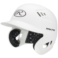 Rawlings Coolflo Matte Batting Helmet - Men's - White / Black