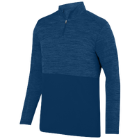 Augusta Sportswear Team Heather 1/4 Zip Pullover - Men's - Navy / Navy