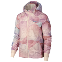 Nike Shield Hooded Jacket - Women's - Pink
