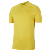 Nike Dry Momentum Blade Golf Polo - Men's - Yellow