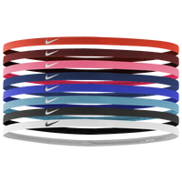 Nike Skinny Hairbands 8 Pack - Women's - Multicolor