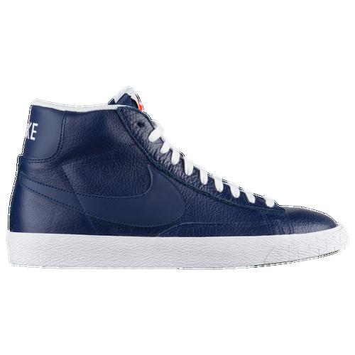 quality design d28f7 d5d40 (white signal blue team  nike blazer mid mens navy tan