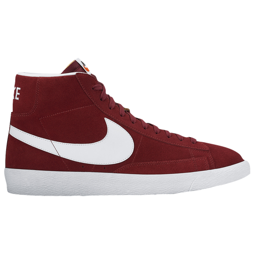 Best Drop Shipping Nike Blazer MID Mens Skateboard shoes Brown burgundy