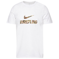 Nike Wrestling Dri-Fit Training T-Shirt - Men's - White
