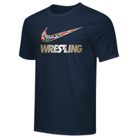 Nike Wrestling Dri-Fit Training T-Shirt - Men's - Navy