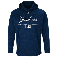 Majestic MLB Player On Field Hoodie - Men s - New York Yankees - Navy    White 425596f42529
