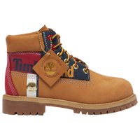 "Timberland 6"" Premium Waterproof Boots - Boys' Preschool - Gold"