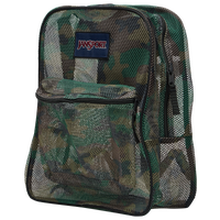 JanSport Mesh Backpack - Olive Green / Green