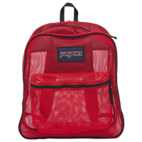 JanSport Mesh Backpack - Red / Red