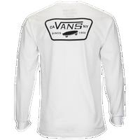 4feaa8e60b Vans Full Patch Back Long Sleeve T-Shirt - Men s - White   Black