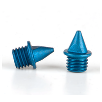 Omni-Lite 5mm Pyramid Spikes 20 Count Package - Blue / Blue