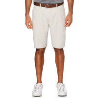 PGA Tour Expandable Waistband Flat Front Shorts - Men's - Grey / Grey