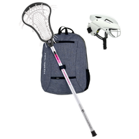 Maverik Lacrosse LX Starter Package - Women's - White / White