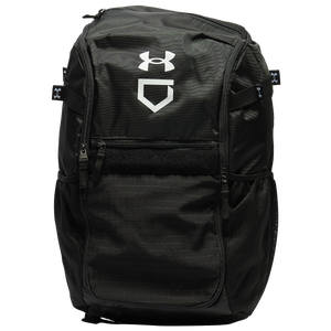 Under Armour Utility Baseball Backpack - Black/Black/White