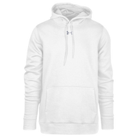 Under Armour Team Hustle Fleece Hoodie - Men's - All White / White