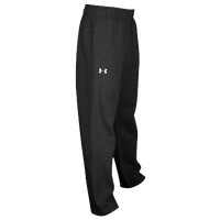 Under Armour Team Hustle Fleece Pants - Men's - All Black / Black