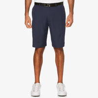 PGA Tour Expandable Waistband Flat Front Shorts - Men's - Black
