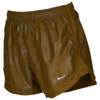 "Nike Dri-FIT 3.5"" Tempo Shorts - Women's - Gold"