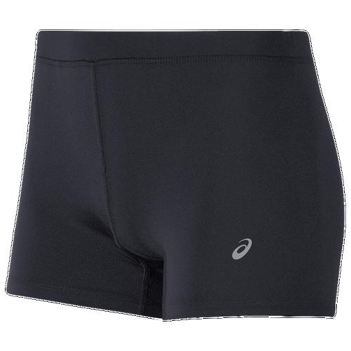 """asics tiger 3"""" booty shorts - women's at foot locker"""