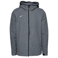 Nike Team Dry Showtime Full-Zip Hoodie - Men's - Grey / Black