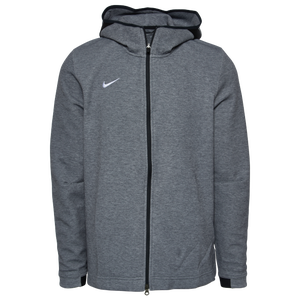 Nike Team Dry Showtime Full-Zip Hoodie - Men's - Cool Grey/Black