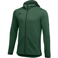 Nike Team Dry Showtime Full-Zip Hoodie - Men's - Dark Green / Black