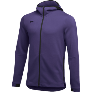 Nike Team Dry Showtime Full-Zip Hoodie - Men's - Purple/Black