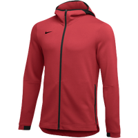 Nike Team Dry Showtime Full-Zip Hoodie - Men's - Red / Black