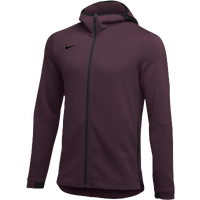 Nike Team Dry Showtime Full-Zip Hoodie - Men's - Maroon / Black