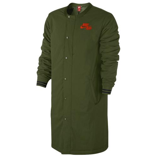 abe36e280193 Nike Air Varsity Jacket - Men s - Casual - Clothing - Legion Green