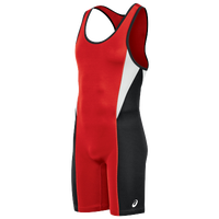 ASICS® Legit Wrestling Singlet - Men's - Red / Black