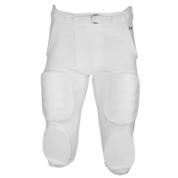 Eastbay Zone Blitz Integrated Game Pants - Men's - All White / White